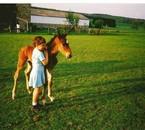Moi et Prince (mon ancien cheval