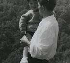 avec mon papa en Italie