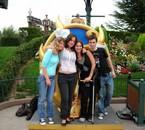 Elodie, Tristoune, Sasa & Moi (le 14.08.2007)