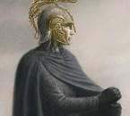 Turin Turambar portant le Heaume de Hador