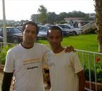 C moi et la grande star le rapeur hamad du groupe WLAD LEBLA