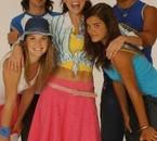 Le groupe sans Maïa et Nico