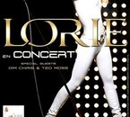 """lorie """" afiche du concert """""""