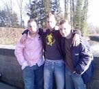 benja mon frère,kevin et moi