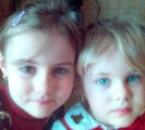 Kelly et Coline Février 2005