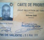 Dharamvir Nagpal ID  Carte De Prioriete by Civil PoliceParis