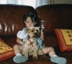 moi et un de mes chien