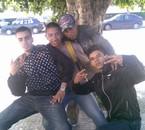 wanis , moi , ayoub & Piwi