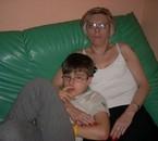 Mon fils et sa maman  ils beaux non ???