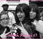 Dedett` Sarah Riani  ( La plus belle ) & Moi =)
