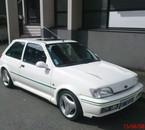 Le Fiesta RS Turbo a mon frère (200ch y a un Garrett T3)