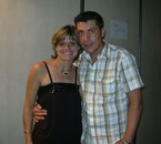Luis Com uma das fans
