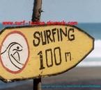 surfing 100 m