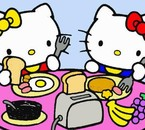 Kitty and Miffy =)