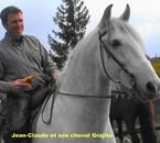 Grajito et son propriétaire Jean-Claude
