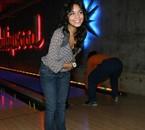 Nessa au bowling.