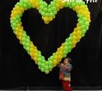 Un grand coeur pour celle que j'......................!!!!!!