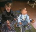 mes deux bébés!
