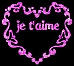 je t'aime mes amour perso