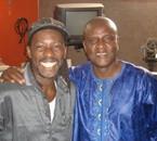 Avec le grand frère Ismaël Lô