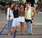 Pauline, Debi, moi et Julie