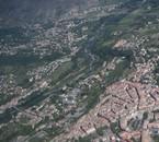 Centre ville d'Aubenas, pont d'Ucel, saint Privat