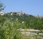 vue du centre ville d'Aubenas de l'Ardèche