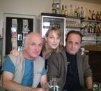Avec papa et mon tonton serge
