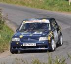 Rallye des Noix 08 en ouvreur avec mon frère