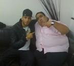 Moi et Wahid du jamel comedy club