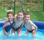 A la piscine 2007