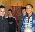 Mathias, Robin, Moi et Alexis