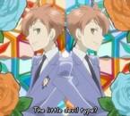 A gauche Kaoru et a droite Hikaru! LOVU LOVU X3