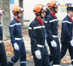 defilé des pompier