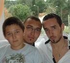 photo des 3 frères rare et sans trucage (Tintin Cid Ben-Lad)