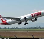 777-300ER, à Santiago de Chile