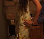 Mwa avec la tenue Tahitienne à la belle souz!