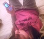 Moi en mode survet' Black devil &Phone :)