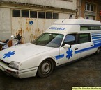 Ma nouvelle CX ambulance.