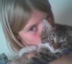 moi et Mistouflet mon chat mort nouillé