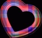 coeur écossé