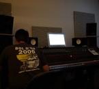 en studio pour le prochain album....