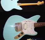 sonic blue fender mustang guitare de Kurt Cobain