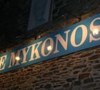 Bienvenue au Mykonos !!!