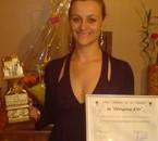 """1er Prix au Concours de Chant """" les Clergoux d' Or """" 2008"""