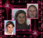 Stéphanie Vanessa Océane les 3 soeurs