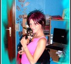 Moi et ma petite chihuahua...