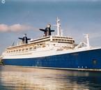 s/s NORWAY Bremerhaven Mai 2003