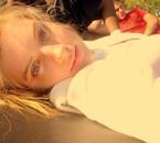 Hott Minnesota Summer Day On My Trampoline. :)