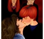 baiser ron-hermione